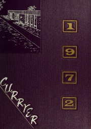 Page 1, 1972 Edition, Curry College - Curryer Yearbook (Milton, MA) online yearbook collection