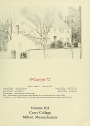Page 5, 1972 Edition, Curry College - Curryer Yearbook (Milton, MA) online yearbook collection