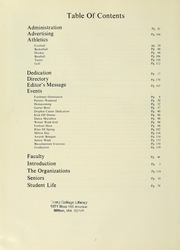 Page 6, 1972 Edition, Curry College - Curryer Yearbook (Milton, MA) online yearbook collection