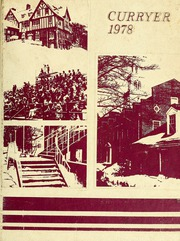 Page 1, 1978 Edition, Curry College - Curryer Yearbook (Milton, MA) online yearbook collection