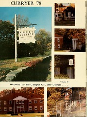 Page 5, 1978 Edition, Curry College - Curryer Yearbook (Milton, MA) online yearbook collection