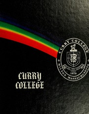 1981 Edition, Curry College - Curryer Yearbook (Milton, MA)