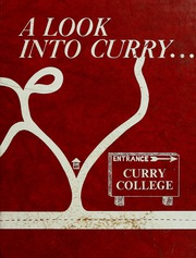 1982 Edition, Curry College - Curryer Yearbook (Milton, MA)