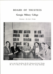 Page 12, 1959 Edition, Georgia Military College - Recall Yearbook (Milledgeville, GA) online yearbook collection