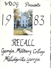 Page 5, 1983 Edition, Georgia Military College - Recall Yearbook (Milledgeville, GA) online yearbook collection