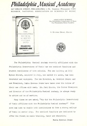 Page 5, 1963 Edition, Philadelphia Musical Academy - Da Capo Yearbook (Philadelphia, PA) online yearbook collection