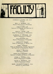 Page 9, 1922 Edition, Montclair State College - La Campana Yearbook (Upper Montclair, NJ) online yearbook collection