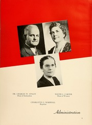 Page 13, 1943 Edition, Montclair State College - La Campana Yearbook (Upper Montclair, NJ) online yearbook collection