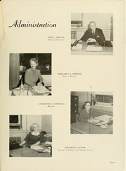 Page 13, 1945 Edition, Montclair State College - La Campana Yearbook (Upper Montclair, NJ) online yearbook collection