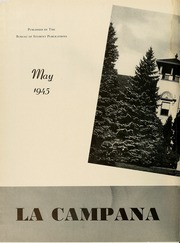 Page 6, 1945 Edition, Montclair State College - La Campana Yearbook (Upper Montclair, NJ) online yearbook collection