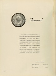 Page 8, 1945 Edition, Montclair State College - La Campana Yearbook (Upper Montclair, NJ) online yearbook collection