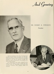 Page 14, 1949 Edition, Montclair State College - La Campana Yearbook (Upper Montclair, NJ) online yearbook collection