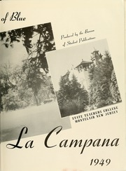 Page 7, 1949 Edition, Montclair State College - La Campana Yearbook (Upper Montclair, NJ) online yearbook collection