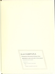 Page 5, 1961 Edition, Montclair State College - La Campana Yearbook (Upper Montclair, NJ) online yearbook collection