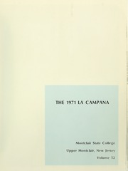 Page 5, 1971 Edition, Montclair State College - La Campana Yearbook (Upper Montclair, NJ) online yearbook collection
