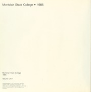 Page 6, 1985 Edition, Montclair State College - La Campana Yearbook (Upper Montclair, NJ) online yearbook collection