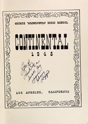 Page 5, 1948 Edition, George Washington High School - Continental Yearbook (Los Angeles, CA) online yearbook collection