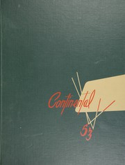 Page 1, 1953 Edition, George Washington High School - Continental Yearbook (Los Angeles, CA) online yearbook collection