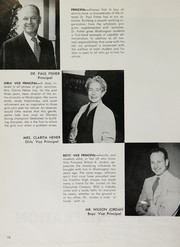 Page 12, 1955 Edition, George Washington High School - Continental Yearbook (Los Angeles, CA) online yearbook collection