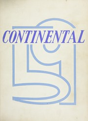 Page 1, 1959 Edition, George Washington High School - Continental Yearbook (Los Angeles, CA) online yearbook collection