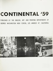 Page 5, 1959 Edition, George Washington High School - Continental Yearbook (Los Angeles, CA) online yearbook collection