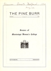 Page 7, 1913 Edition, William Carey College - Crusader / Pine Burr Yearbook (Hattiesburg, MS) online yearbook collection