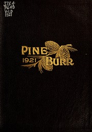 Page 1, 1921 Edition, William Carey College - Crusader / Pine Burr Yearbook (Hattiesburg, MS) online yearbook collection