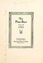 Page 7, 1921 Edition, William Carey College - Crusader / Pine Burr Yearbook (Hattiesburg, MS) online yearbook collection