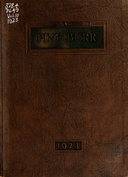 Page 1, 1923 Edition, William Carey College - Crusader / Pine Burr Yearbook (Hattiesburg, MS) online yearbook collection