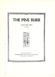 Page 9, 1923 Edition, William Carey College - Crusader / Pine Burr Yearbook (Hattiesburg, MS) online yearbook collection