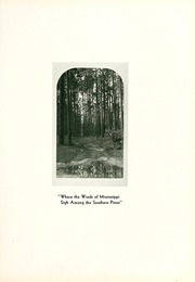 Page 11, 1931 Edition, William Carey College - Crusader / Pine Burr Yearbook (Hattiesburg, MS) online yearbook collection