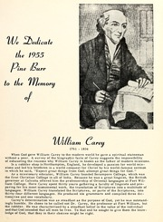 Page 13, 1955 Edition, William Carey College - Crusader / Pine Burr Yearbook (Hattiesburg, MS) online yearbook collection