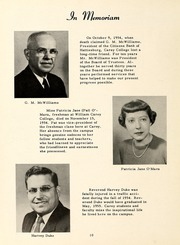 Page 14, 1955 Edition, William Carey College - Crusader / Pine Burr Yearbook (Hattiesburg, MS) online yearbook collection