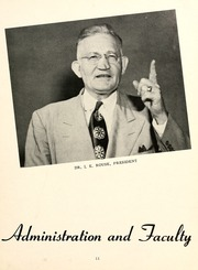 Page 15, 1955 Edition, William Carey College - Crusader / Pine Burr Yearbook (Hattiesburg, MS) online yearbook collection