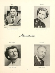 Page 17, 1955 Edition, William Carey College - Crusader / Pine Burr Yearbook (Hattiesburg, MS) online yearbook collection