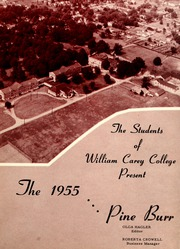 Page 5, 1955 Edition, William Carey College - Crusader / Pine Burr Yearbook (Hattiesburg, MS) online yearbook collection