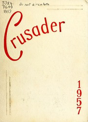 William Carey College - Crusader / Pine Burr Yearbook (Hattiesburg, MS) online yearbook collection, 1957 Edition, Page 1