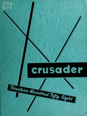 William Carey College - Crusader / Pine Burr Yearbook (Hattiesburg, MS) online yearbook collection, 1958 Edition, Page 1