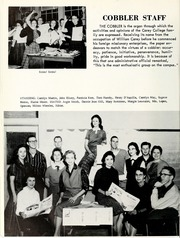 Page 100, 1959 Edition, William Carey College - Crusader / Pine Burr Yearbook (Hattiesburg, MS) online yearbook collection