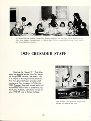 Page 95, 1959 Edition, William Carey College - Crusader / Pine Burr Yearbook (Hattiesburg, MS) online yearbook collection