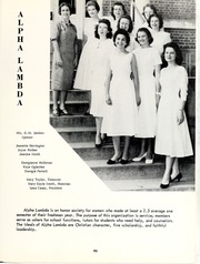 Page 99, 1959 Edition, William Carey College - Crusader / Pine Burr Yearbook (Hattiesburg, MS) online yearbook collection