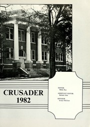 Page 5, 1982 Edition, William Carey College - Crusader / Pine Burr Yearbook (Hattiesburg, MS) online yearbook collection