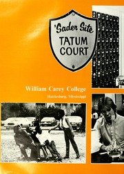Page 6, 1982 Edition, William Carey College - Crusader / Pine Burr Yearbook (Hattiesburg, MS) online yearbook collection