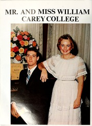 Page 14, 1984 Edition, William Carey College - Crusader / Pine Burr Yearbook (Hattiesburg, MS) online yearbook collection