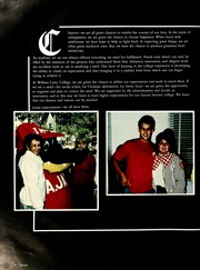 Page 10, 1986 Edition, William Carey College - Crusader / Pine Burr Yearbook (Hattiesburg, MS) online yearbook collection