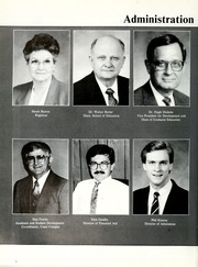 Page 12, 1988 Edition, William Carey College - Crusader / Pine Burr Yearbook (Hattiesburg, MS) online yearbook collection