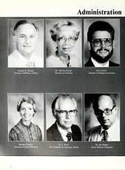 Page 14, 1988 Edition, William Carey College - Crusader / Pine Burr Yearbook (Hattiesburg, MS) online yearbook collection