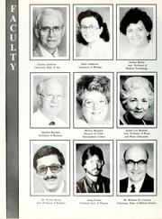 Page 16, 1988 Edition, William Carey College - Crusader / Pine Burr Yearbook (Hattiesburg, MS) online yearbook collection
