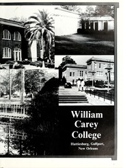 Page 7, 1988 Edition, William Carey College - Crusader / Pine Burr Yearbook (Hattiesburg, MS) online yearbook collection