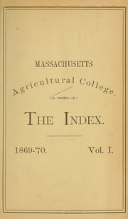 Page 5, 1869 Edition, University of Massachusetts Amherst - Index Yearbook (Amherst, MA) online yearbook collection